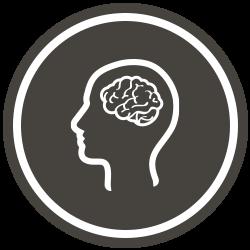 Brown Neuro Icon