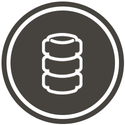 Brown Spine Icon