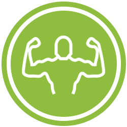 Green Muscle Icon