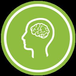Green Neuro Icon