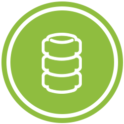 Green Spine Icon